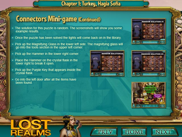 Lost Realms: The Curse of Babylon Strategy Guide Game screenshot 2