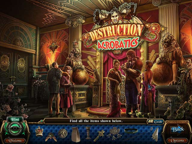 Macabre Mysteries: Curse of the Nightingale Collector's Edition Game screenshot 2