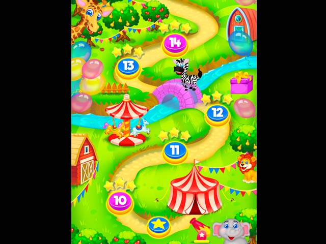 Madagascar Circus Game screenshot 2