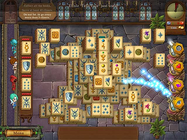 Magic Bookshop: Mahjong Game screenshot 3