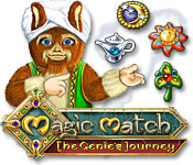 Free Magic Match The Genie's Journey Game