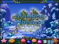 Mahjong Holidays 2005 Game screenshot 2