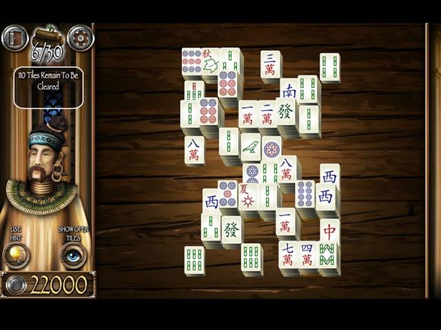 Mahjong Masters: Temple of the Ten Gods Game screenshot 3