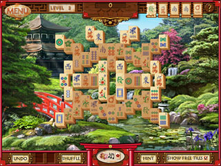 Mahjong Memoirs Game screenshot 1