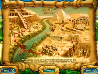 Mahjongg: Ancient Egypt Game screenshot 2