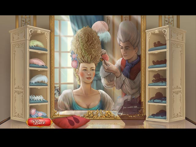 Marie Antoinette's Solitaire Game screenshot 2