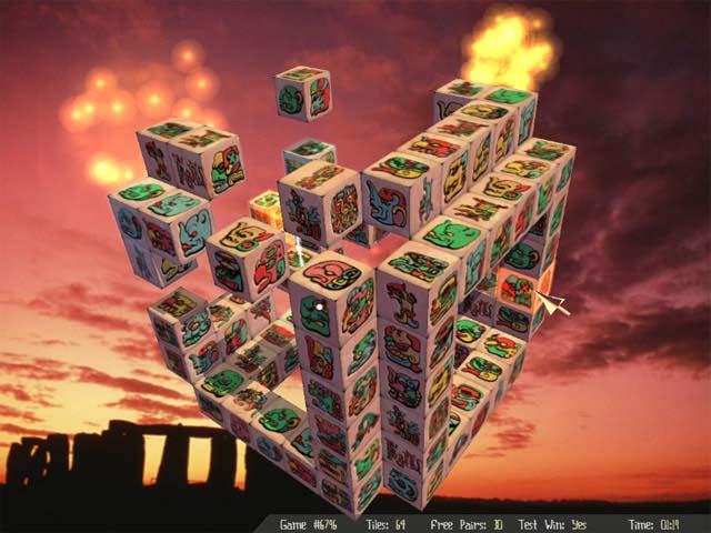 MaxJongg Game screenshot 2