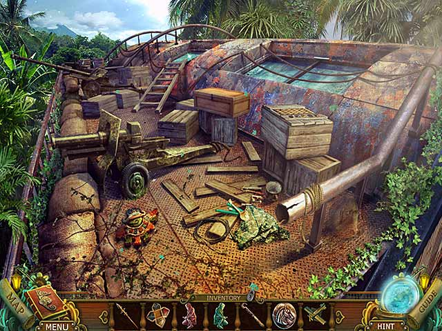Mayan Prophecies: Cursed Island Collector's Edition Game screenshot 2