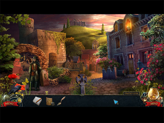 Midnight Mysteries: Ghostwriting Collector's Edition Game screenshot 2