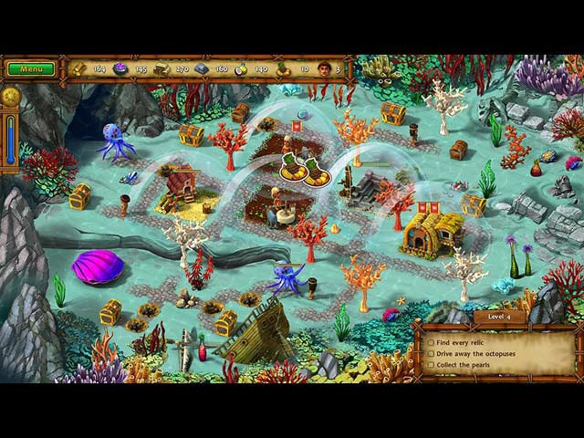 Moai IV: Terra Incognita Game screenshot 1