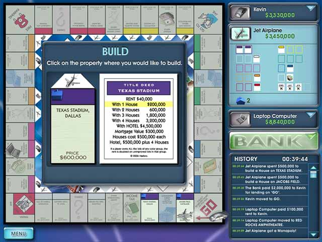 Monopoly Here and Now Edition Game screenshot 3