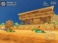 Moorhuhn Kart 2 Game screenshot 1
