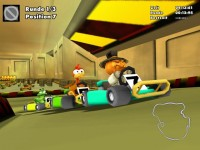 Moorhuhn Kart 2 Game screenshot 2