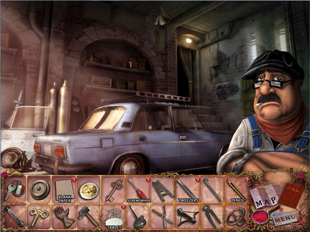 Mortimer Beckett and the Crimson Thief Game screenshot 2