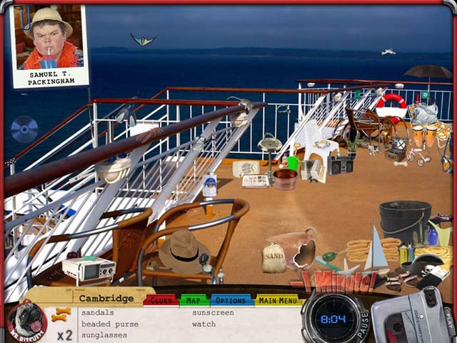 Mr. Biscuits: The Case of the Ocean Pearl Game screenshot 1