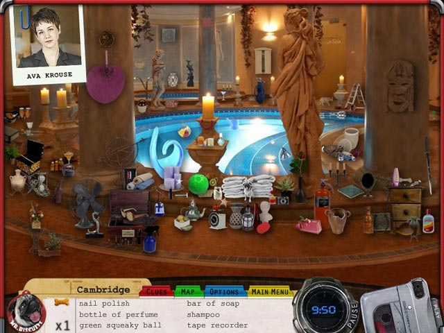 Mr. Biscuits: The Case of the Ocean Pearl Game screenshot 4