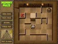 Mummy Maze Deluxe Game screenshot 2