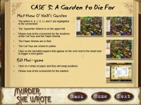 Murder, She Wrote Strategy Guide Game screenshot 2
