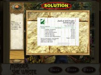 Murder, She Wrote Strategy Guide Game screenshot 3