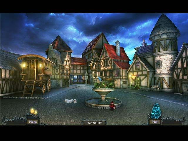 Mysteries of Neverville: The Runestone of Light Game screenshot 2