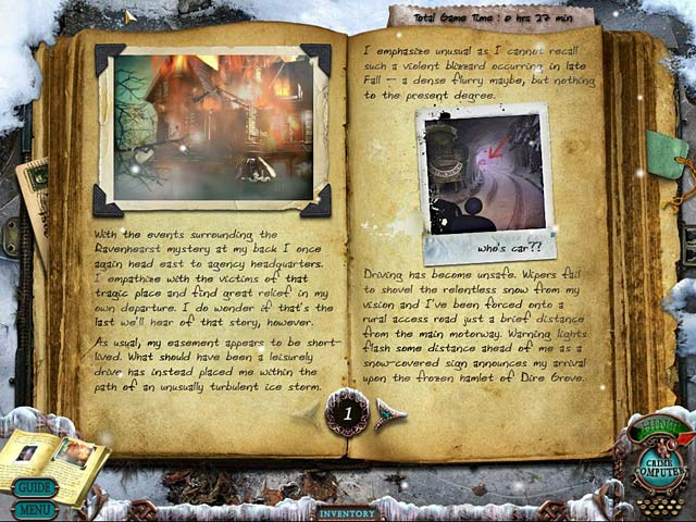 Mystery Case Files: Dire Grove Collector's Edition Game screenshot 2