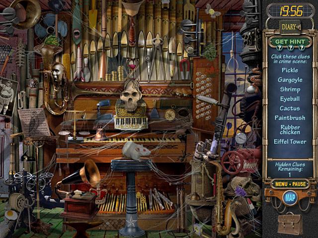 Mystery Case Files: Ravenhearst Game screenshot 3