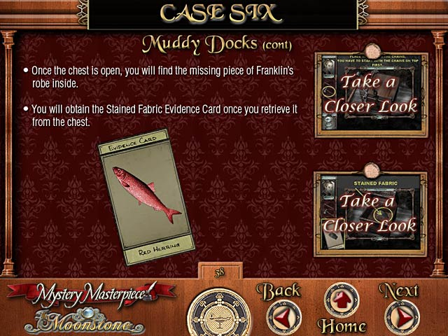 Mystery Masterpiece: The Moonstone Strategy Guide Game screenshot 1