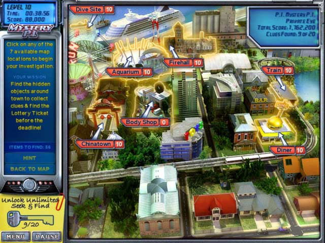 Mystery P.I.: The Lottery Ticket Game screenshot 1