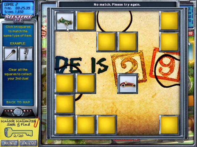 Mystery P.I.: The Lottery Ticket Game screenshot 3