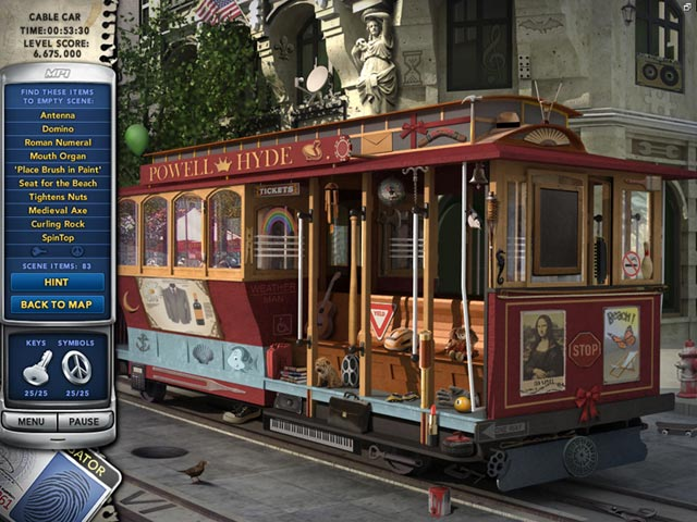 Mystery P.I.: Stolen in San Francisco Game screenshot 1