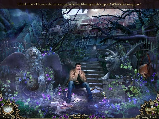 Mystery Trackers: Black Isle Collector's Edition Game screenshot 2