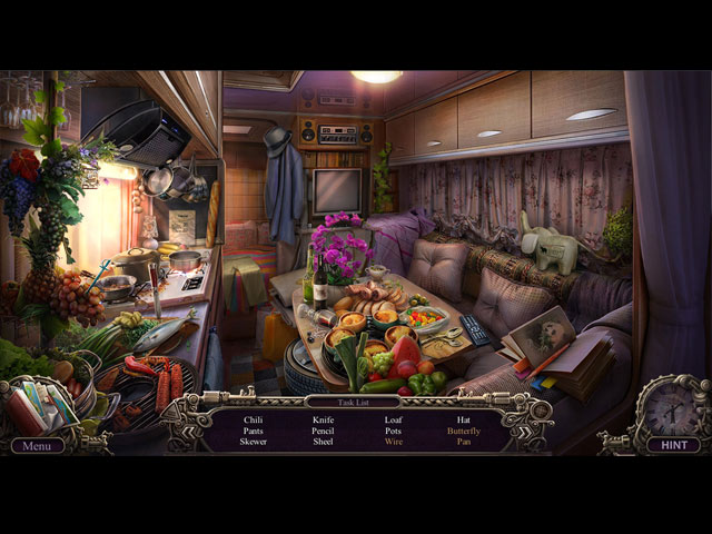 Mystery Trackers: Train to Hellswich Game screenshot 2