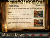 Mystic Diary: Lost Brother Strategy Guide Game screenshot 1