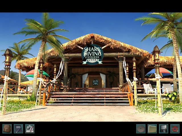 Nancy Drew: Ransom of the Seven Ships Game screenshot 1