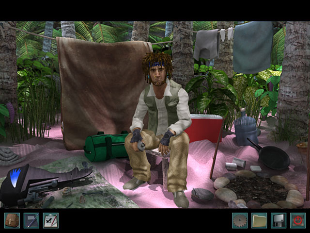 Nancy Drew: Ransom of the Seven Ships Game screenshot 2
