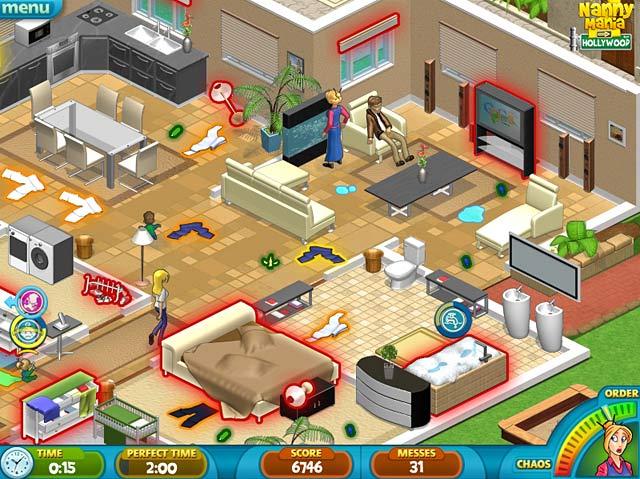 Nanny Mania 2 Game screenshot 3