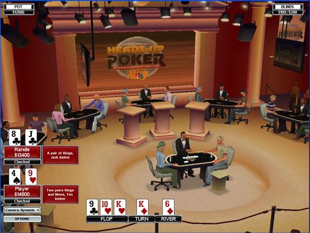 NBC Heads-Up Poker Game screenshot 3