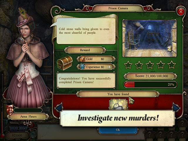 Nightfall: An Edgar Allan Poe Mystery Game screenshot 2
