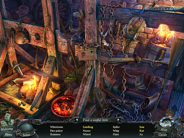 Nightmares from the Deep: The Cursed Heart Collector's Edition Game screenshot 2