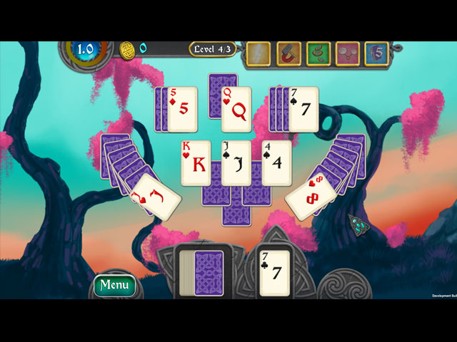 Nordic Storm Solitaire Game screenshot 1