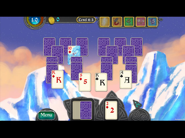 Nordic Storm Solitaire Game screenshot 2