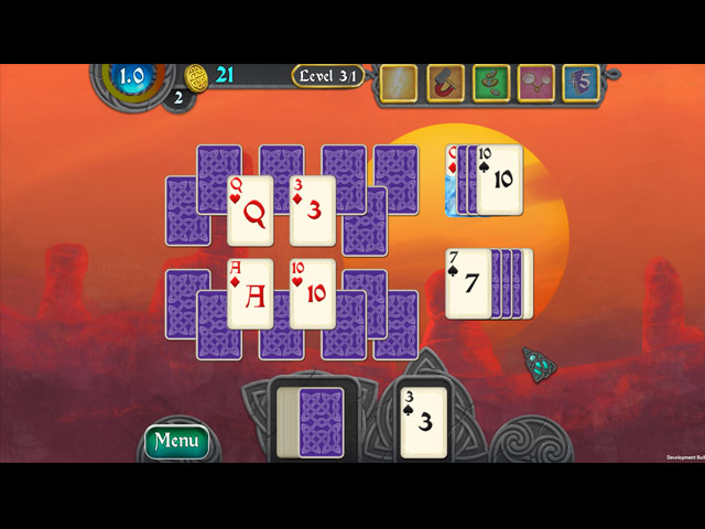 Nordic Storm Solitaire Game screenshot 3
