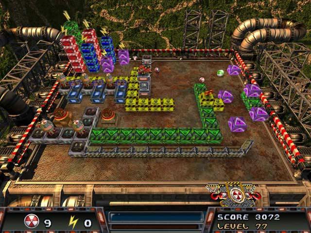 Nuclear Ball Game screenshot 1