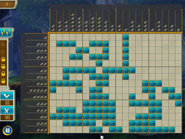 Olympus Griddlers Game screenshot 3