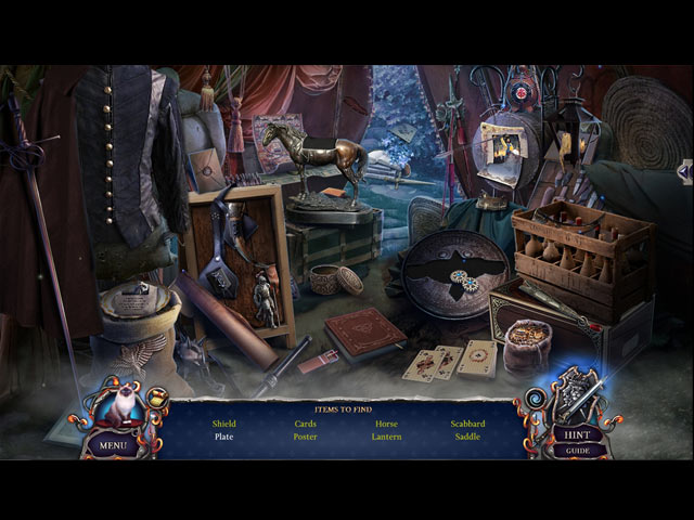 Ominous Objects: The Cursed Guards Collector's Edition Game screenshot 2
