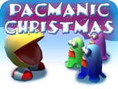 Free Pac-Manic Christmas Game