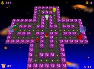 PacMan Adventures 3D Game screenshot 1