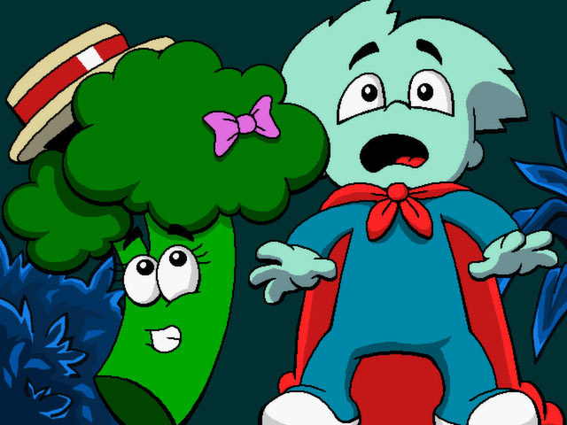 Pajama Sam 3: You Are What You Eat From Your Head to Your Feet Game screenshot 1