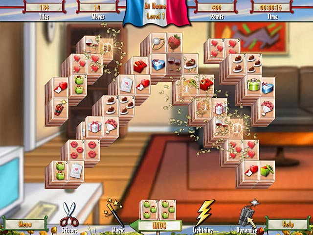 Paris Mahjong Game screenshot 1
