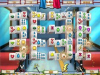 Paris Mahjong game screenshot 2